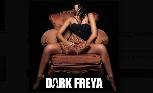 Dark Freya - The Greedy Cock