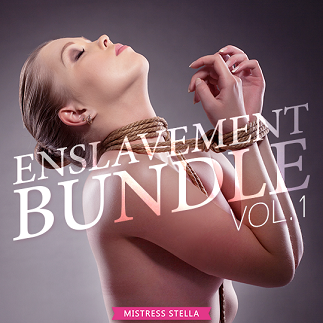 Mistress Stella - Enslavement Bundle Vol. 1 - Femdom MP3