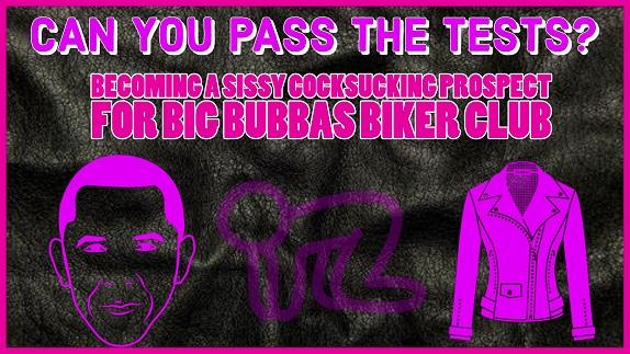 FemdomAudio - Becoming a Sissy Cocksucking Prospect for Big Bubbas Biker Club