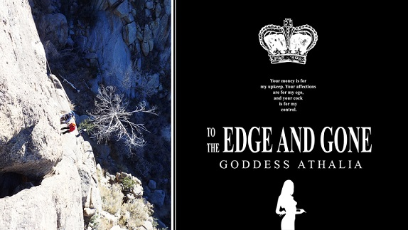 Goddess Athalia - To the Edge and Gone - Hands Free Edging