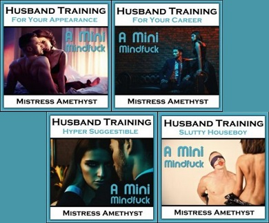 Mistress Amethyst - Husband Training Series (4 sessions)