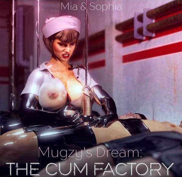 Mistress Sophia and Mia Croft - Mugzy's Dream - The Cum Factory