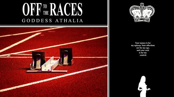 Goddess Athalia - Trance Treats Off to the Races Premature Ejaculation Cum Countdown - Femdom MP3
