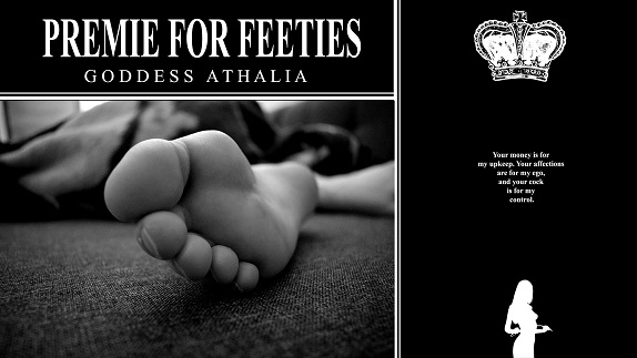 Goddess Athalia - Premie for Feeties Soft Dick Foot Fetish PE