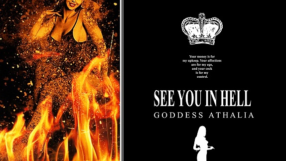 Goddess Athalia - See You in Hell - Femdom MP3
