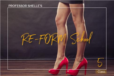 Shelle Rivers - Professor Shelles Re Form School - Class 5 - Femdom MP3