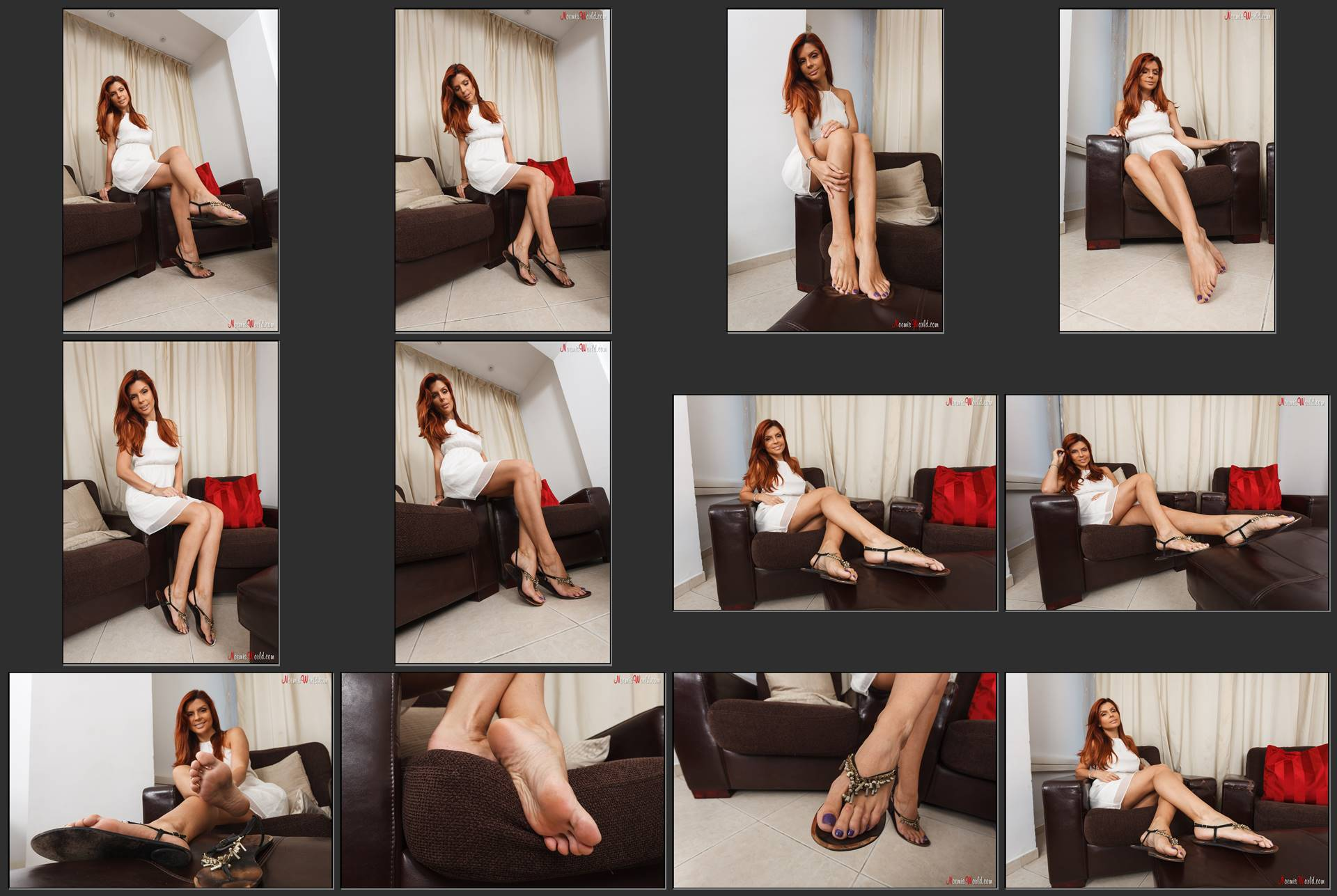 Noemi's World - Athena - This beautiful mermaid invites you to lick her soles - Femdom Pictures